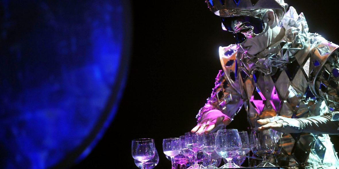 Goddess of Cristal Glass: oogverblindend zuiver!