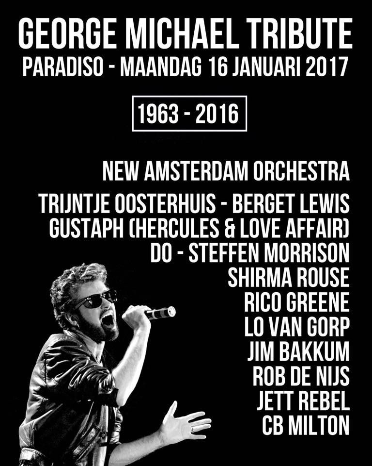 New Amsterdam Orchestra George Michael Tribute