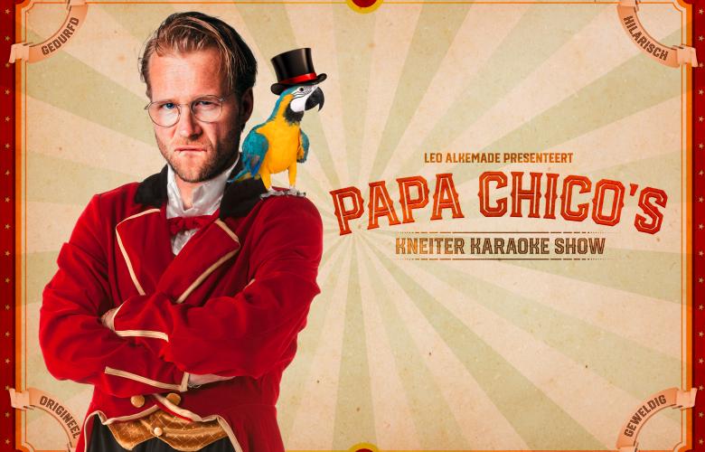 Leo Alkemade: Papa Chico's Kneiter Karaoke Show boeken?